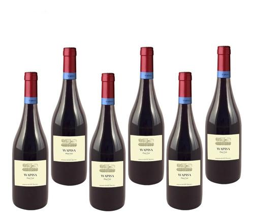 Imagen 1 de 3 de Caja X 6 - Wapisa - Pinot Noir ( Patagonia Atlántica )
