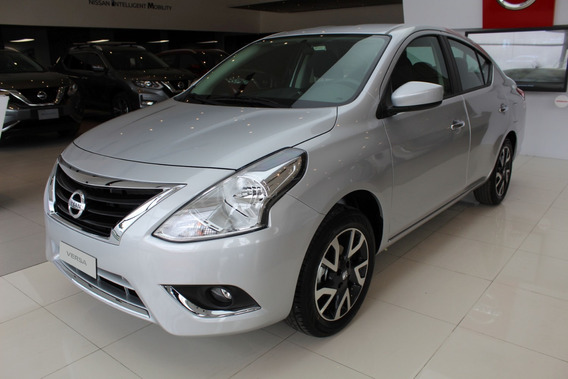 Nissan Versa Motor 1.600, Modelo 2020, Plata 5 Puertas