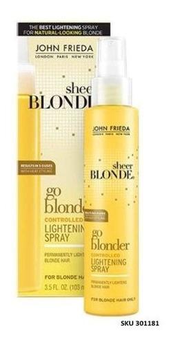 Spray Blonder Controlado John Frieda Escarpado Rubio Go W01