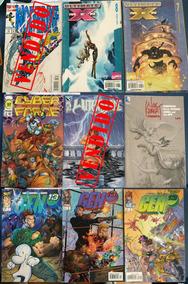 Super-heróis Comics Americano Marvel Dc Image Promoção Cada