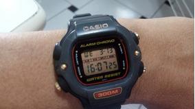 Relogio Casio 1000 Dw 340 Serie Ouro Raro Anos 80