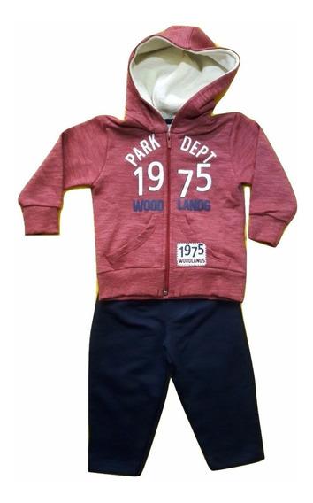 Conjunto Infantil Bebê Jaqueta Calça Moletom Have Fun Hf0362