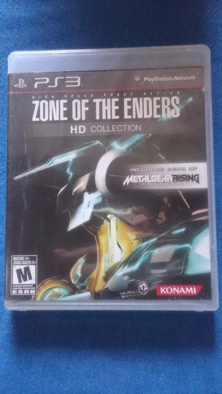 Zone Of The Enders Hd Collection Ps3 Midia Fisica Frete R$10
