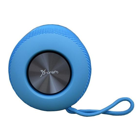 Caixa De Som Bluetooth X-craft X9 Azul 10w À Prova De Àgua