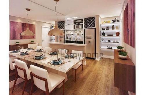 Apartamento Com 2 Dormitórios À Venda, 62 M² Por R$ 495.000,00 - Vila Izabel - Curitiba/pr - Ap1991