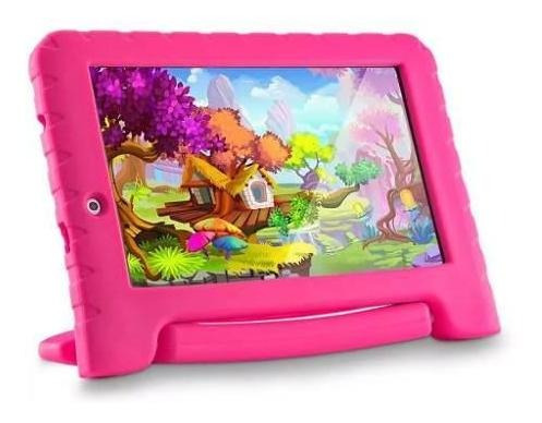 Tablet Multilaser Kid Pad Plus 1gb Tela 7 Azul/rosa Nota Fis