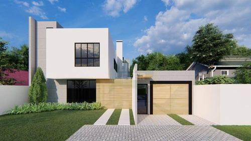 Sobrado Com 3 Dormitórios À Venda, 121 M² Por R$ 460.000,00 - Boa Vista - Curitiba/pr - So0236