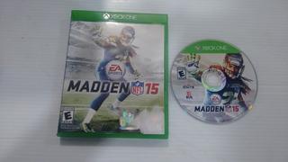 Madden Nfl 15 Completo Para Xbox One,excelente Titulo,checa