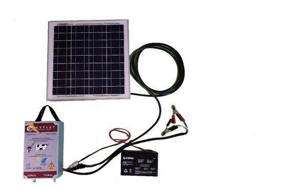 Cerco Electrico Ganadero Solar 20 Millas (30 Kilometros).