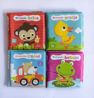 Libro Baby Baño Didactico Infantil Cuento Bañadera Ducha