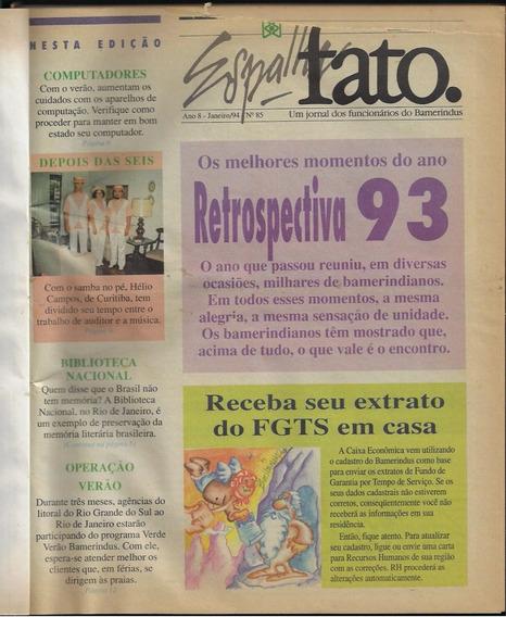 1994 Jornal Espalha Fato Bamerindus Nº 85 Ao 97 Encadernado