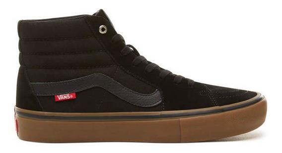 Zapatos Vans Sk8 Hi Pro Black Gum