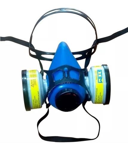 Semi Máscara Stim S1200 Bi Filtro (filtros Gases Y Vapores)