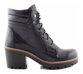 Borcego Mujer Briganti Cuero Premium Zapato Promo Mcbo24699