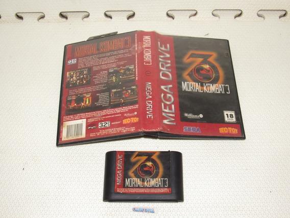 Mortal Kombat 3 Tec Toy Original Mega Drive
