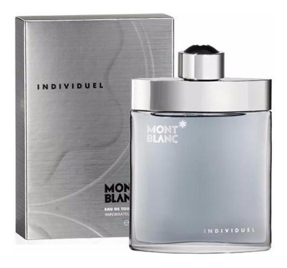 Perfume Mont Blanc Individuel 75ml - 100% Original E Lacrado