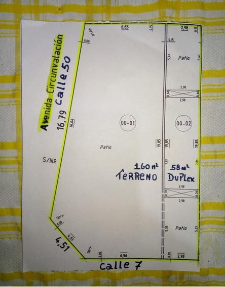 Duplex Incluye Terreno 6x20