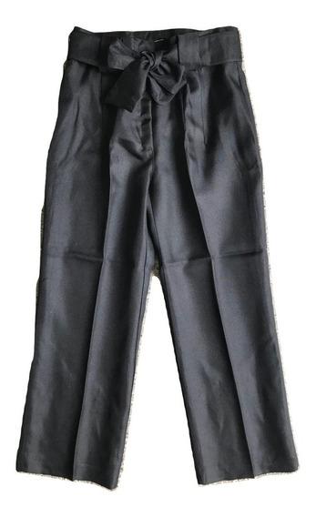 Pantcourt Pantalon Corto De Vestir Con Lazo + Envio Gratis
