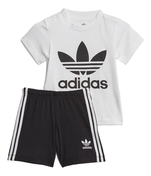 Conjunto adidas Originals Moda Gift Set Bebes Bebe Bl/ng