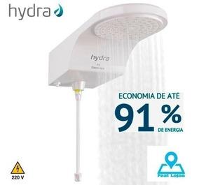 Ducha Hydra Fit Eletronica Thermosystem 220v 6800w Branca