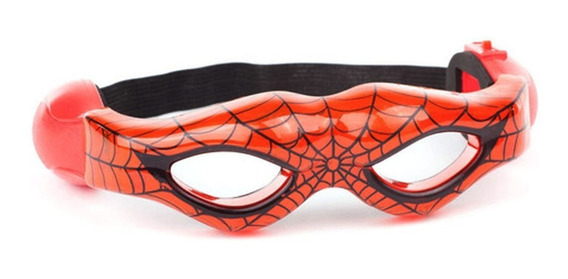 Antifaz Spiderman Mascara Con Luz Ditoys Lighting Mask