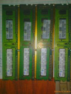 Memoria Ram 1 Gb, Samsung Ddr3, Pc3 10600u X 4