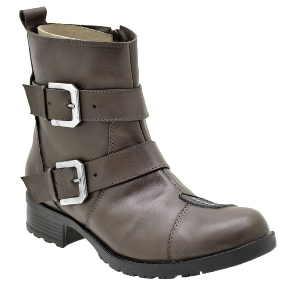 Coturno Feminino Couro Atron Shoes 7501