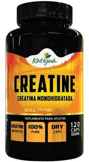 Creatina Monohidratada 120 Caps - 500mg - Katigua