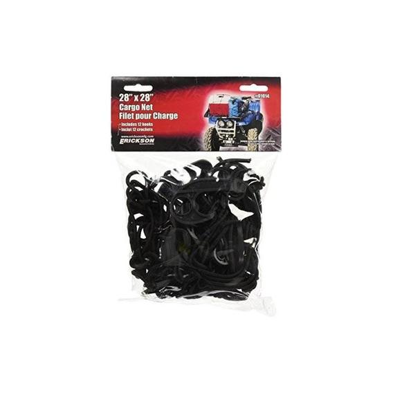 Erickson 01014 Black 28 X 28 Cargo Net