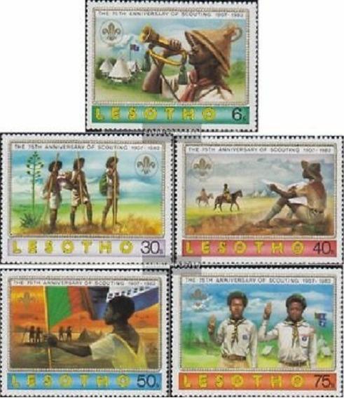 1982 Aniv Movimiento Boy Scouts- Liberia ( Sellos) Mnh