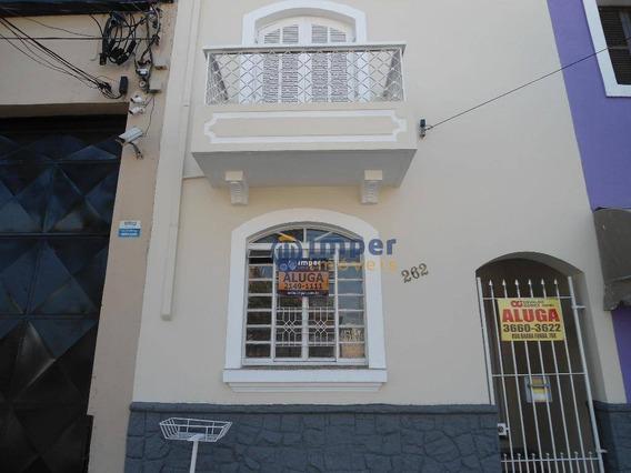 Sobrado Com 2 Dormitórios Para Alugar, 105 M² Por R$ 2.800,00/mês - Barra Funda - São Paulo/sp - So0007