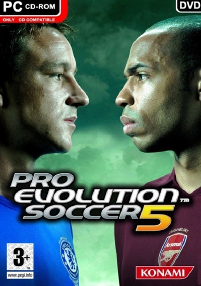 Pro Evolution Soccer 5 - Pc Mídia Digital