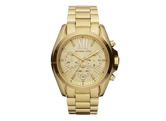 Relógio Michael Kors Mk5605 Dourado 100% Original
