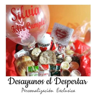 Desayuno Personalizado A Domicilio Original Cumpleaños