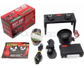 Alarme Sistec Sxt986 Com Sirene Travamento E 2 Controles
