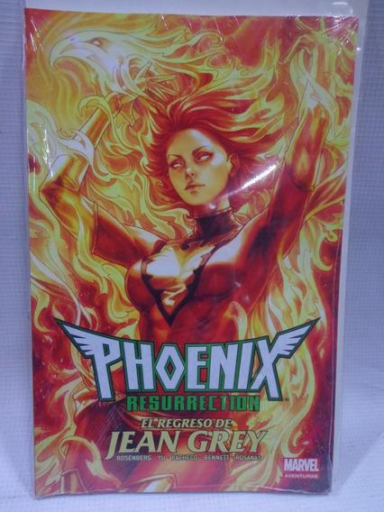 Phoenix Resurrection Regreso De Jean Grey Marvel Aventuras 3