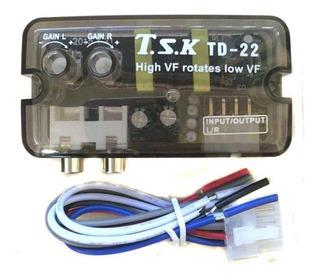 Amplificador De Coche De Alto A Bajo Retardo Td-22
