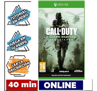 Call Of Duty Modern Warfare Remastered Xbox One Online