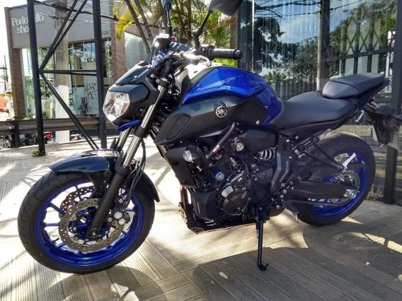 Yamaha Mt07 Abs Azul 2020