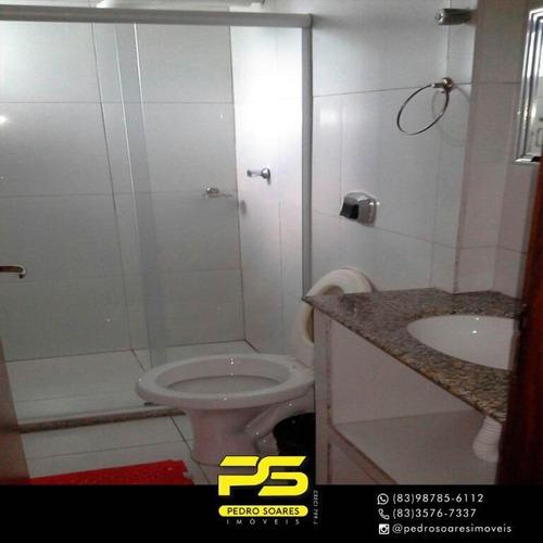 Flat Com 1 Dormitório À Venda, 30 M² Por R$ 150.000,00 - Manaíra - João Pessoa/pb - Fl0091