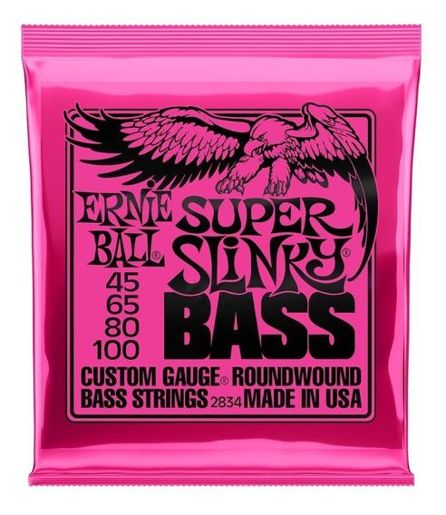 Encordado Ernie Ball 045 Para Bajo De 4 Cuerdas2834