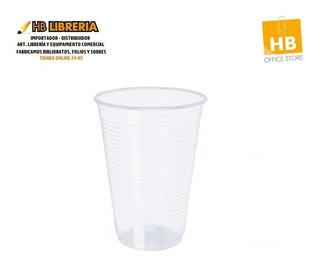 Vaso Descartable Plastico Transparente 500cc- Pack X100u