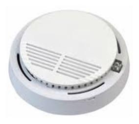 Sensor De Incendio Alarme Detector De Fumaca Alarme Visual E