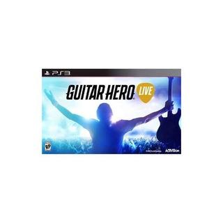 Héroe De La Guitarra En Vivo - Playstation 3