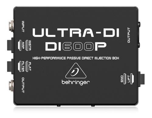 Caja Directa Pasiva Behringer Ultra-di Di600p Libertella