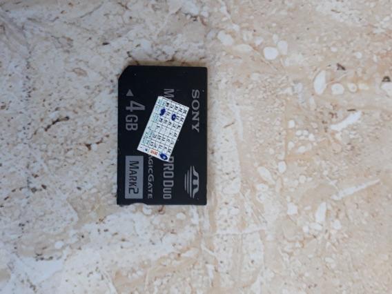 Cartão Psp 4 Gigas Original