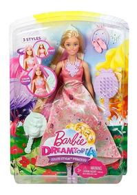 Boneca Dreamtopia - Barbie Princesa Cabelos Coloridos Mágico