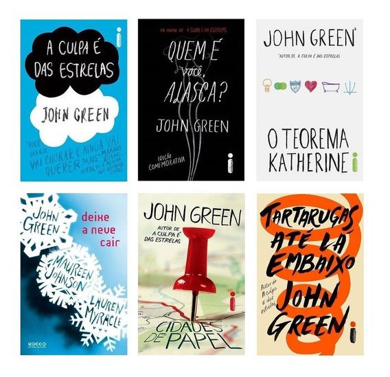 Kit 6 Livros Coleção John Green *