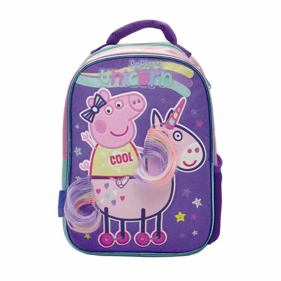 Mochila Peppa Pig 12 Pulgadas Pp040 Original!!