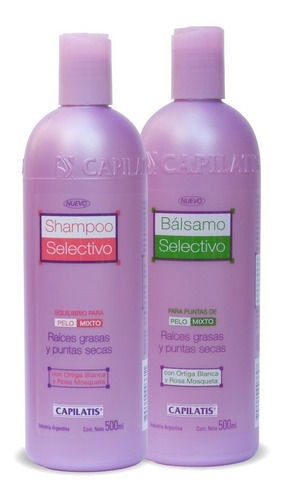 Kit Selectivo: Shampoo + Bálsamo - Capilatis
